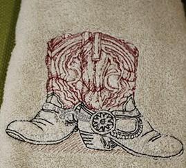bernie boot towel