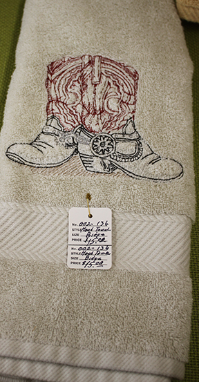bernie boot towel
