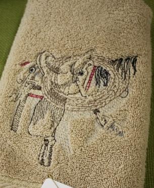 bernie saddle towel