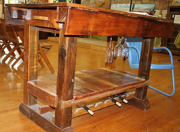 Chicken Coop Creations wine table