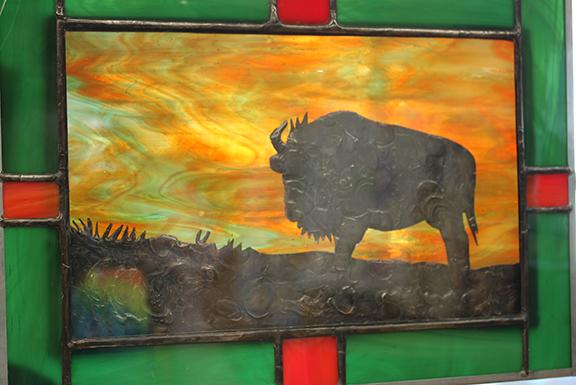 judy bison glass