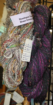 Say homespun yarn