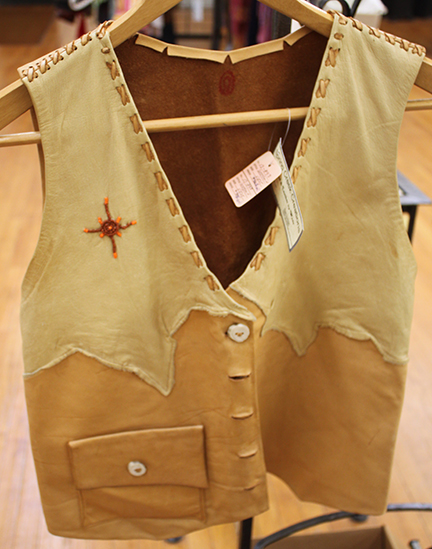 wade leather vest