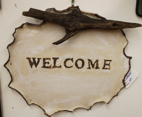 Candace welcome sign