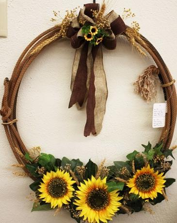 hatcher rope wreath