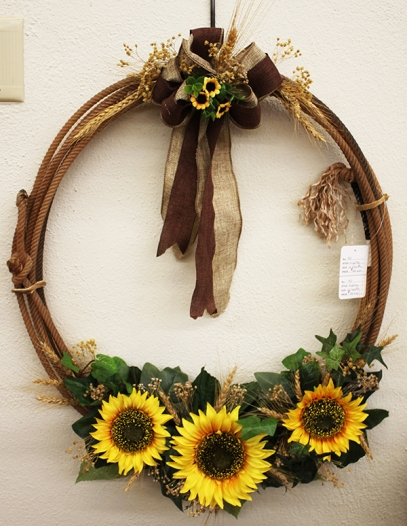 hatcher rope wreath