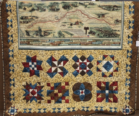 margie pony express quilt