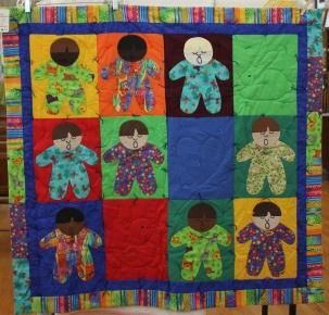 Tastove child quilt